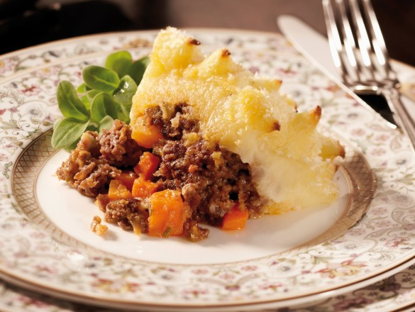 Cottage pie met rundergehakt